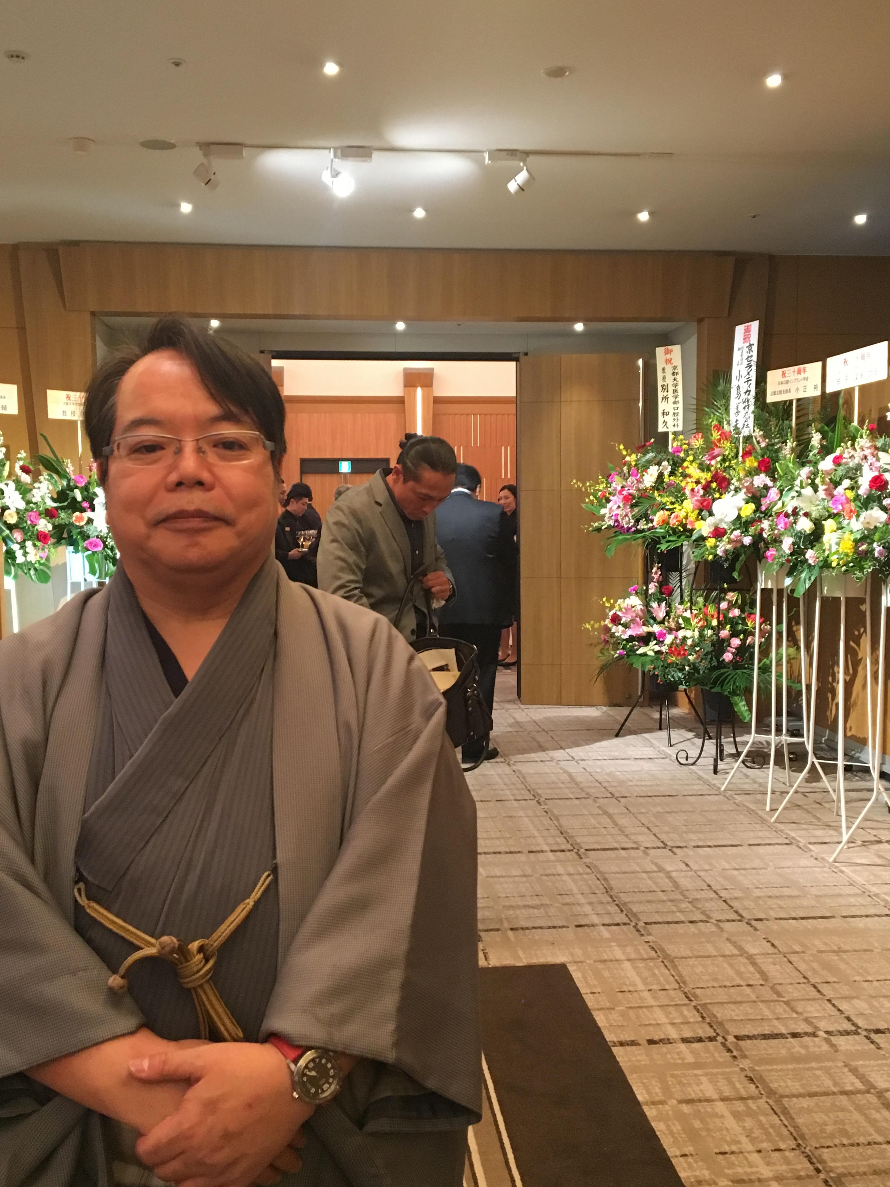 161112大阪インプラント研究会30周年懇親会04 - 大阪インプラント研究会30周年記念